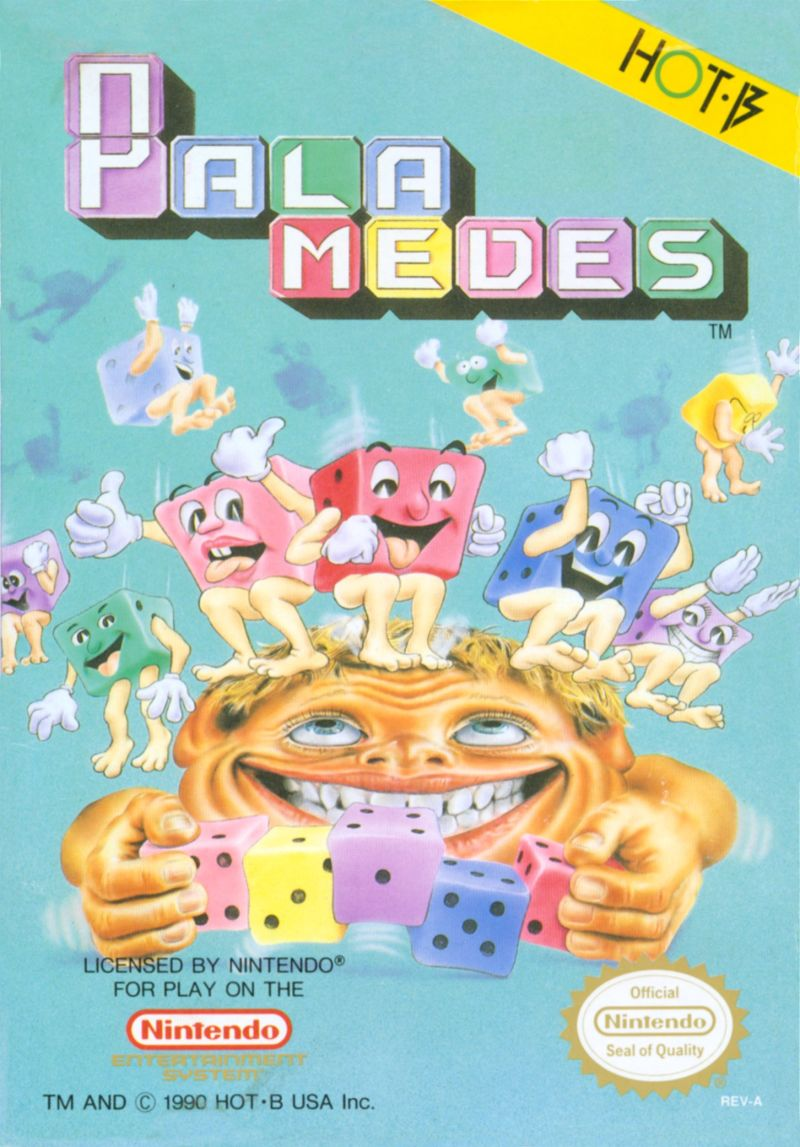 Palamedes NES Front Cover