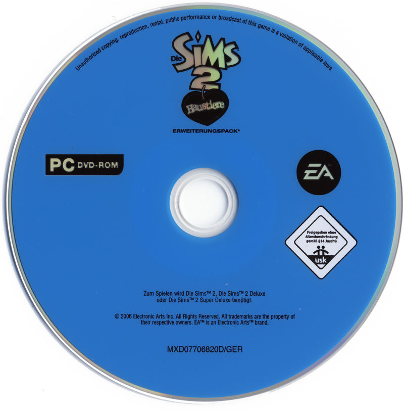 The Sims 2: Pets Windows Media