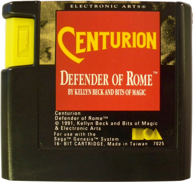 Centurion: Defender of Rome Genesis Media