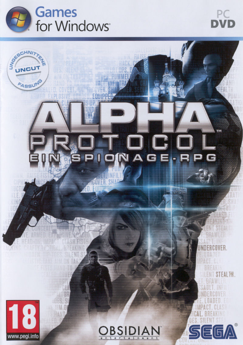 Alpha Protocol Windows Front Cover