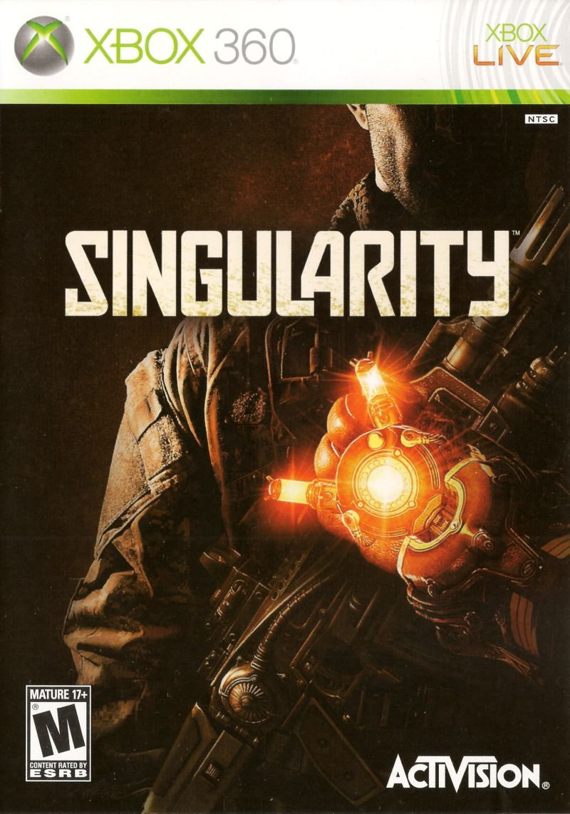 Singularity Xbox 360 Front Cover