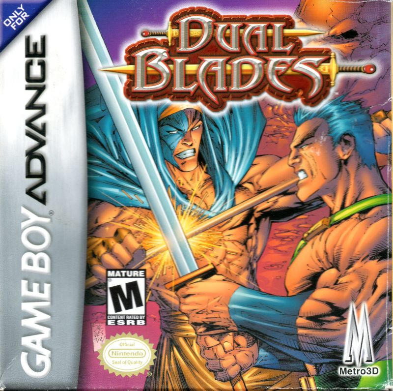Dual Blades Game Boy Advance Front Cover