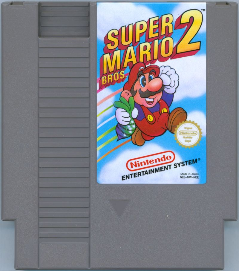 Super Mario Bros. 2 NES Media