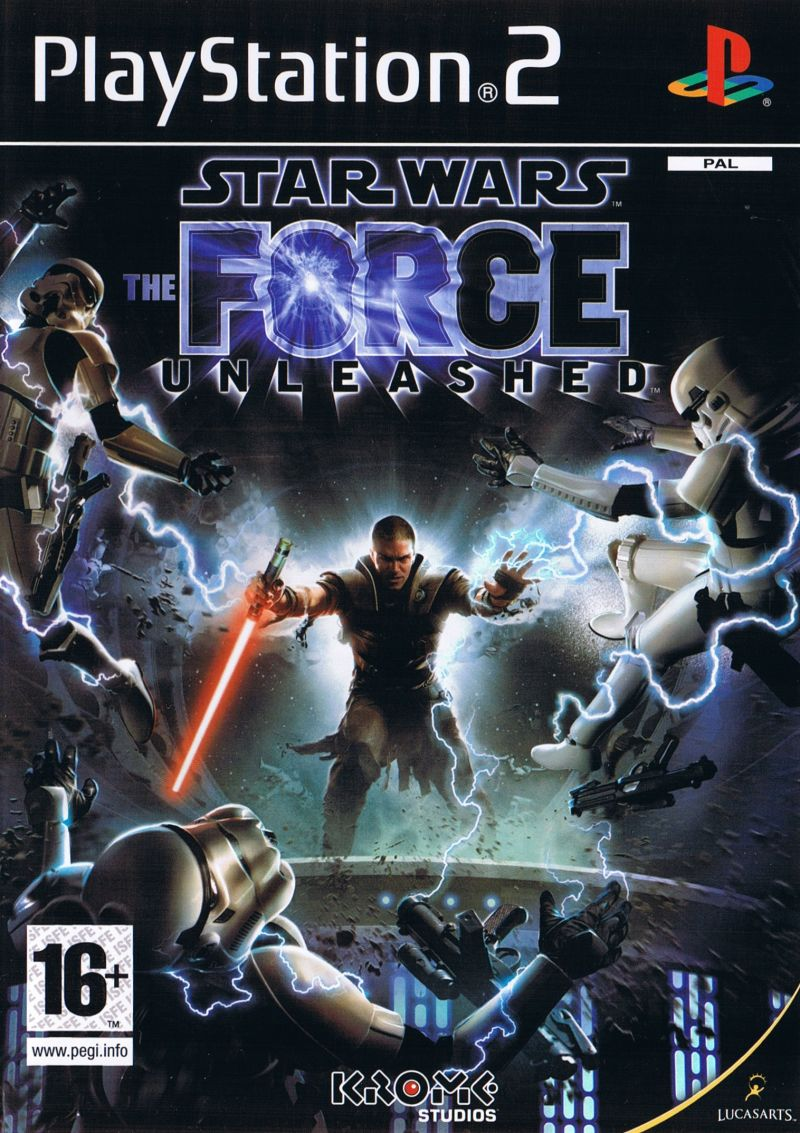 Star Wars: The Force Unleashed PlayStation 2 Front Cover