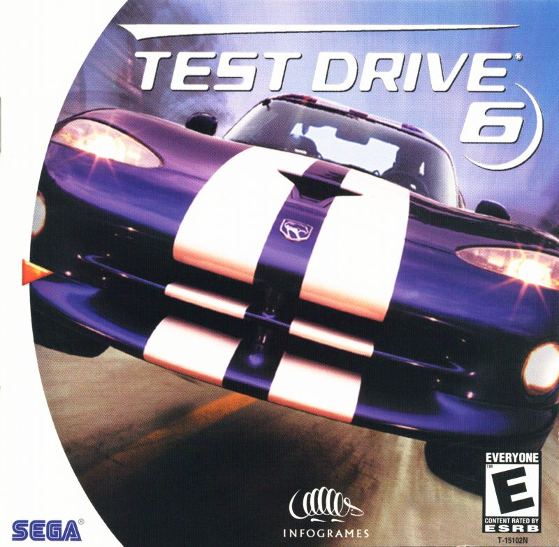Test Drive 6 Dreamcast Front Cover