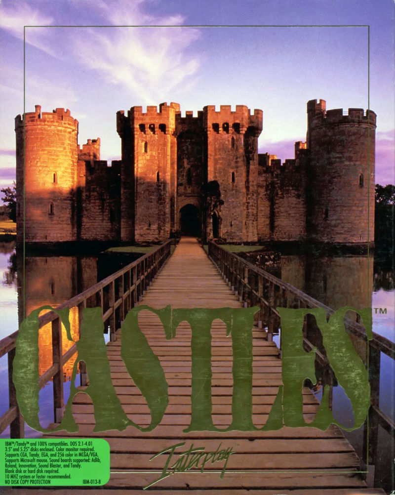 Castles DOS Front Cover