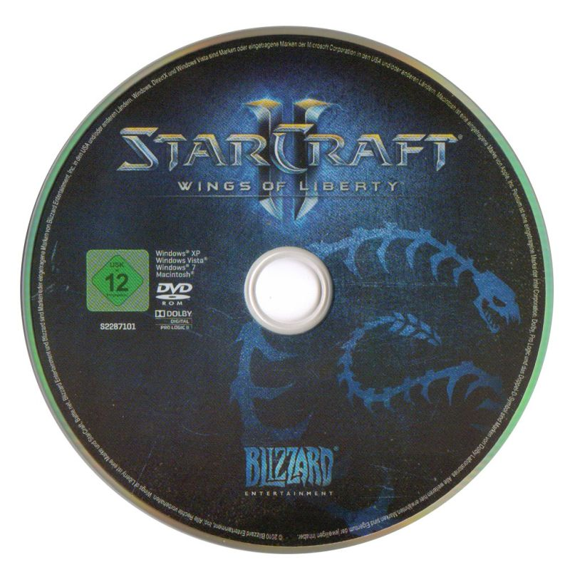 StarCraft II: Wings of Liberty Macintosh Media