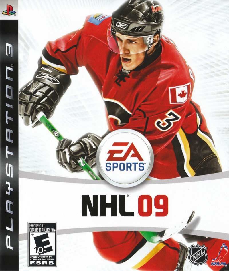 NHL 09 PlayStation 3 Front Cover