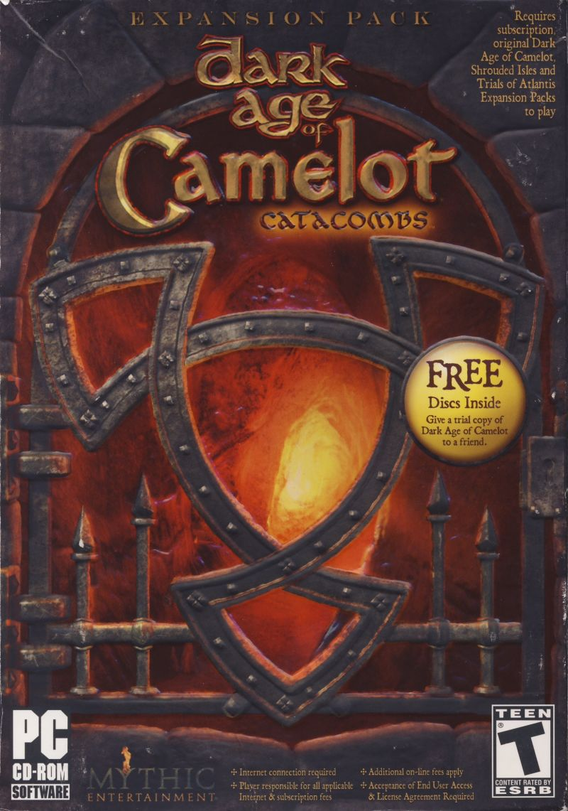 Dark Age of Camelot: Catacombs Windows Front Cover