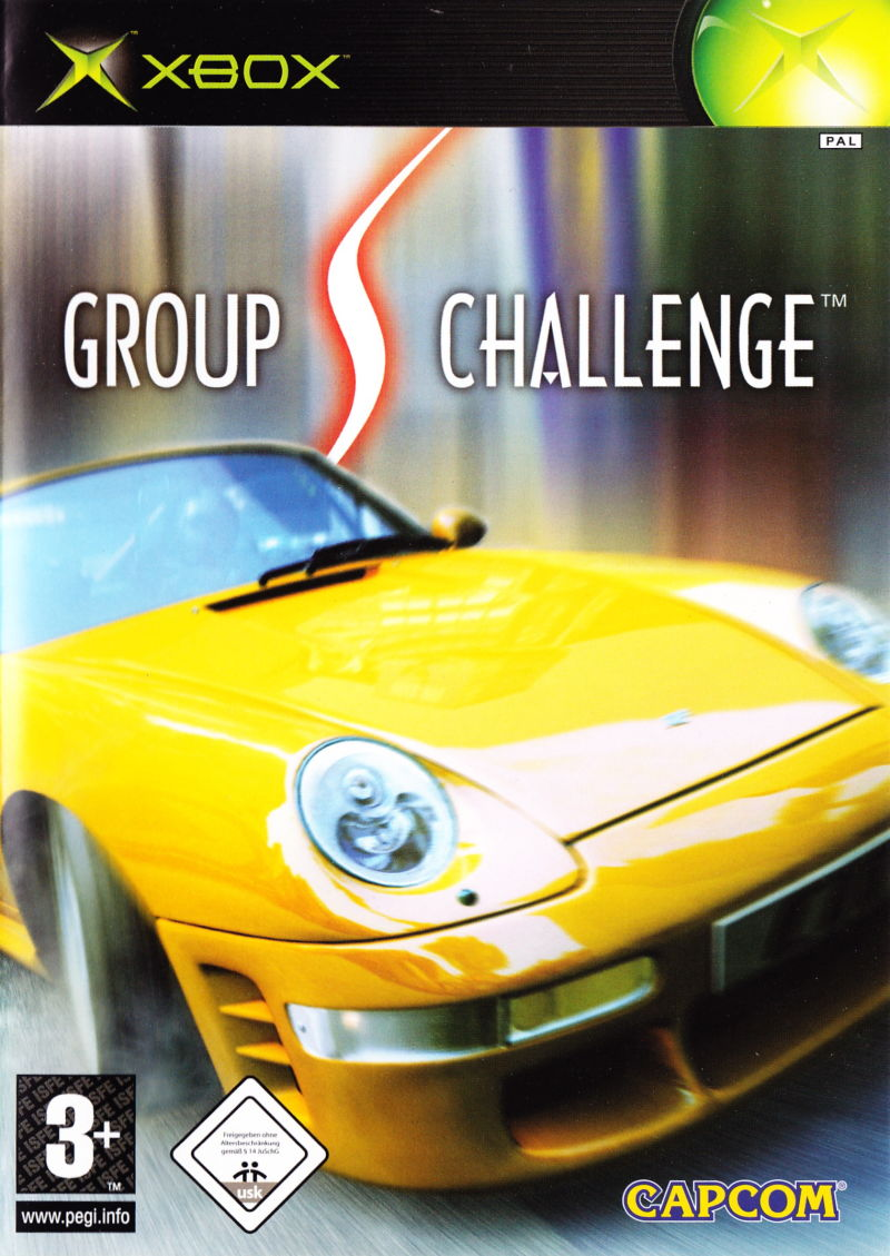 Group S Challenge Xbox Front Cover
