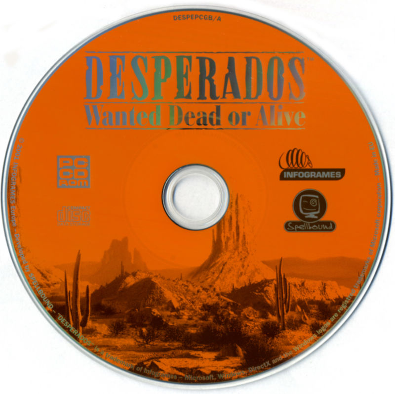 Desperados: Wanted Dead or Alive Windows Media