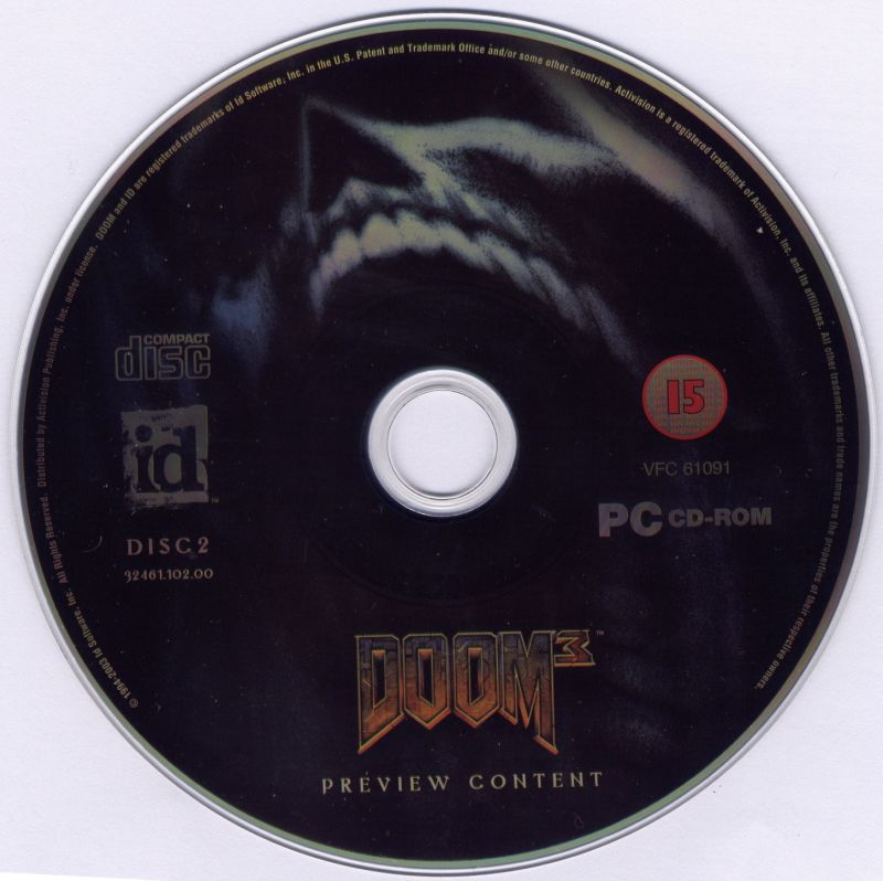 DOOM Collector's Edition Windows Media Disc 2 - Preview content