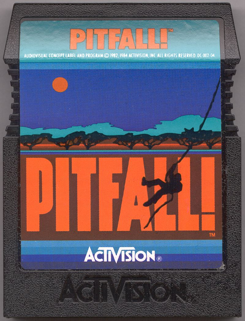 Pitfall! Commodore 64 Media