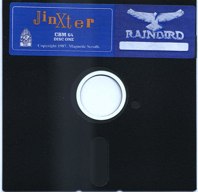 Jinxter Commodore 64 Media 5.25 Game Disk 1 of 2