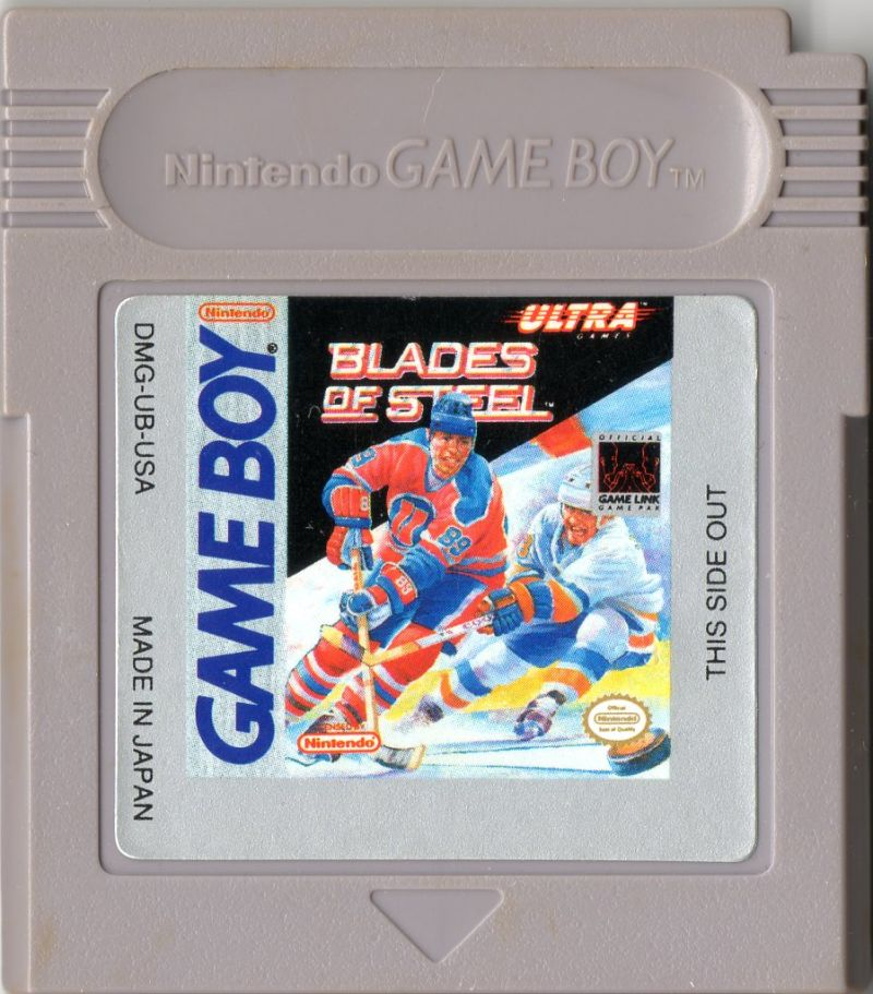 Blades of Steel Game Boy Media