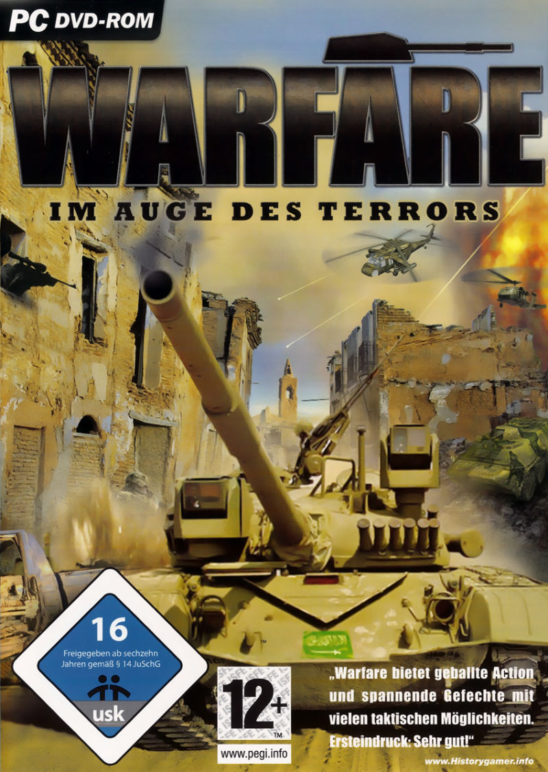 Warfare Windows Front Cover
