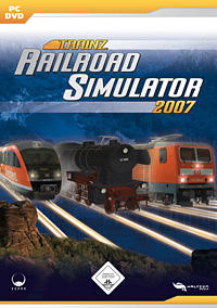Trainz Railroad Simulator 2007 Windows Front Cover