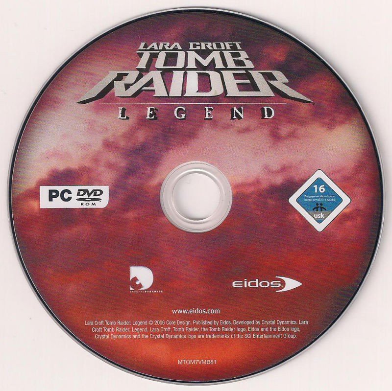 Lara Croft: Tomb Raider - Legend Windows Media