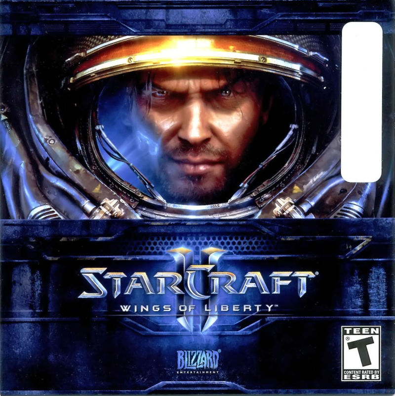 StarCraft II: Wings of Liberty Macintosh Other Sleeve - Front