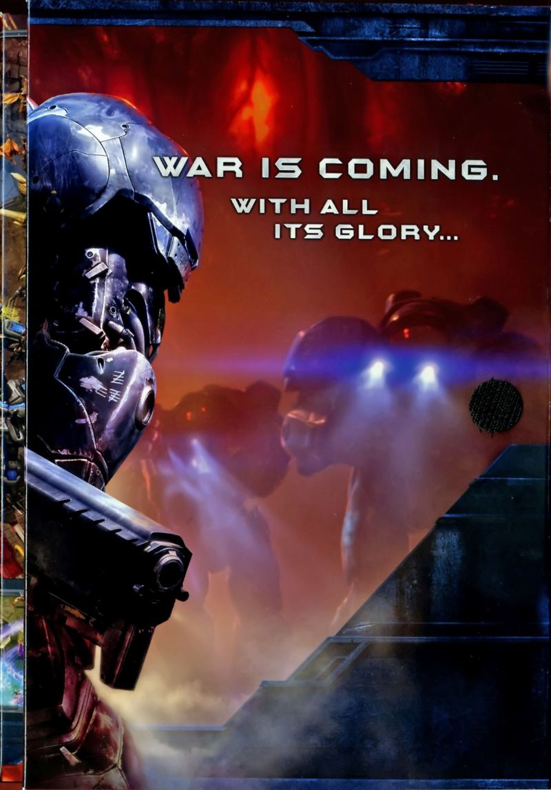 StarCraft II: Wings of Liberty Macintosh Inside Cover Right Flap