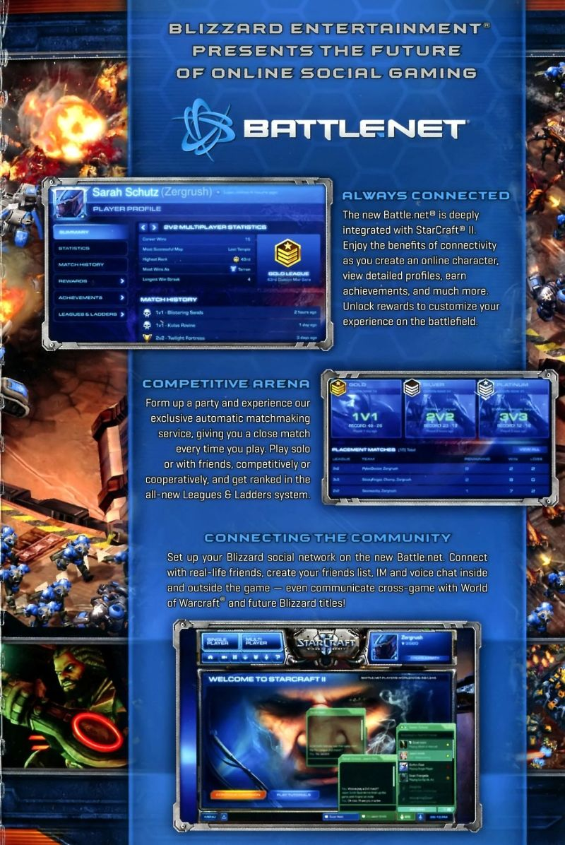 StarCraft II: Wings of Liberty Macintosh Inside Cover 2nd Flap - Far Right