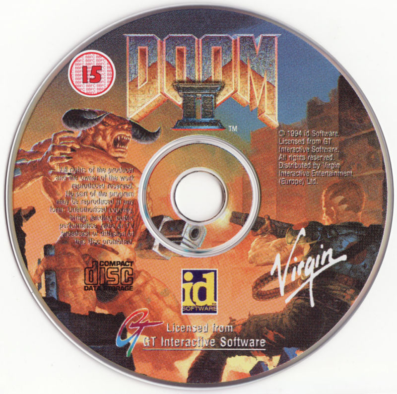 DOOM II DOS Media