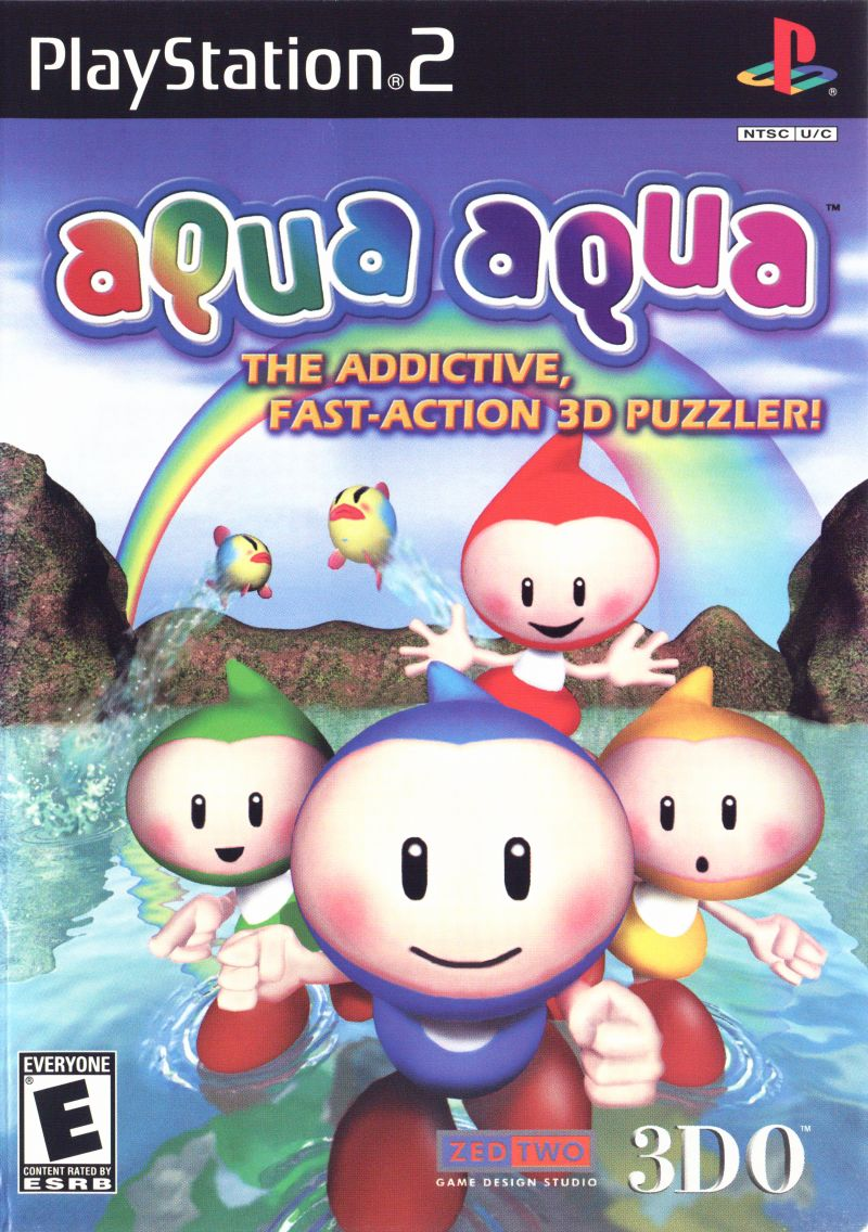 Aqua Aqua PlayStation 2 Front Cover