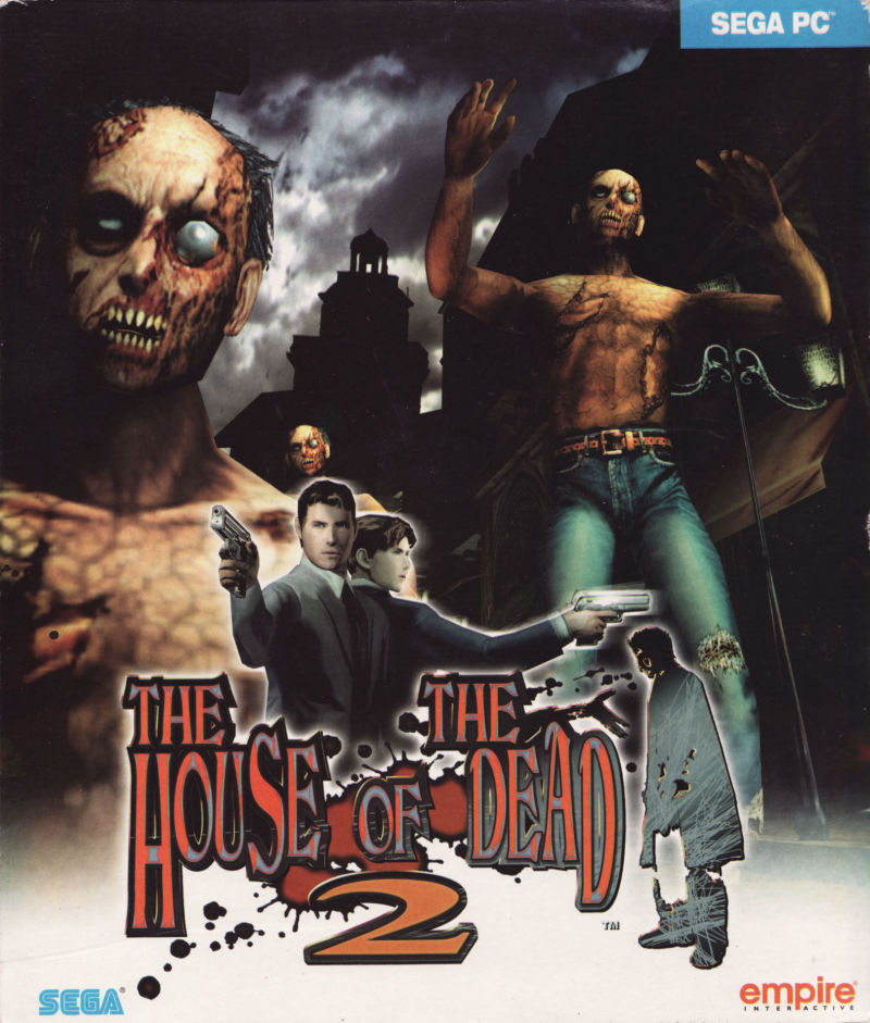 The House of the Dead 2 Windows Front Cover