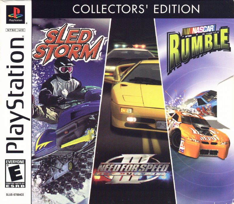 Collectors Edition Sled Storm Need For Speed Iii Hot Pursuit