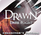 Drawn: Dark Flight (Collector's Edition) Macintosh Front Cover