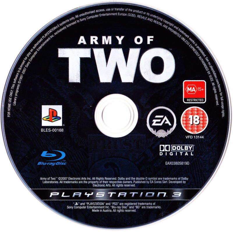 Army of Two PlayStation 3 Media