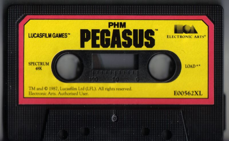 PHM Pegasus ZX Spectrum Media