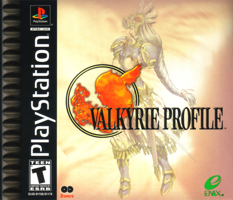 Valkyrie Profile PlayStation Front Cover