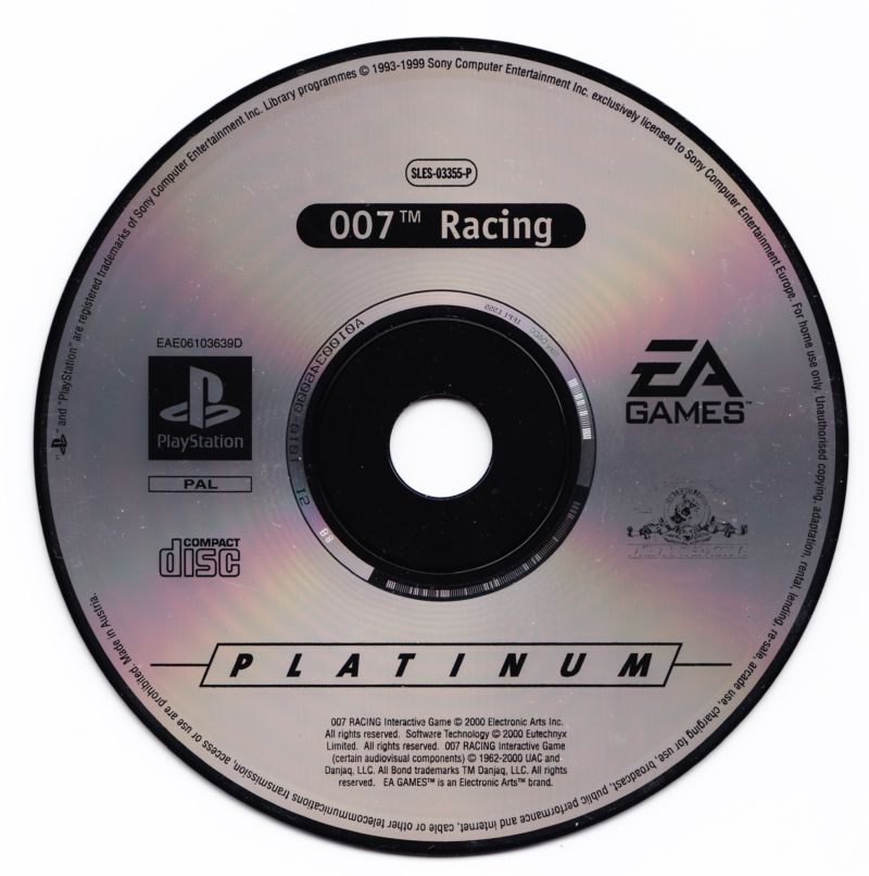 007: Racing PlayStation Media