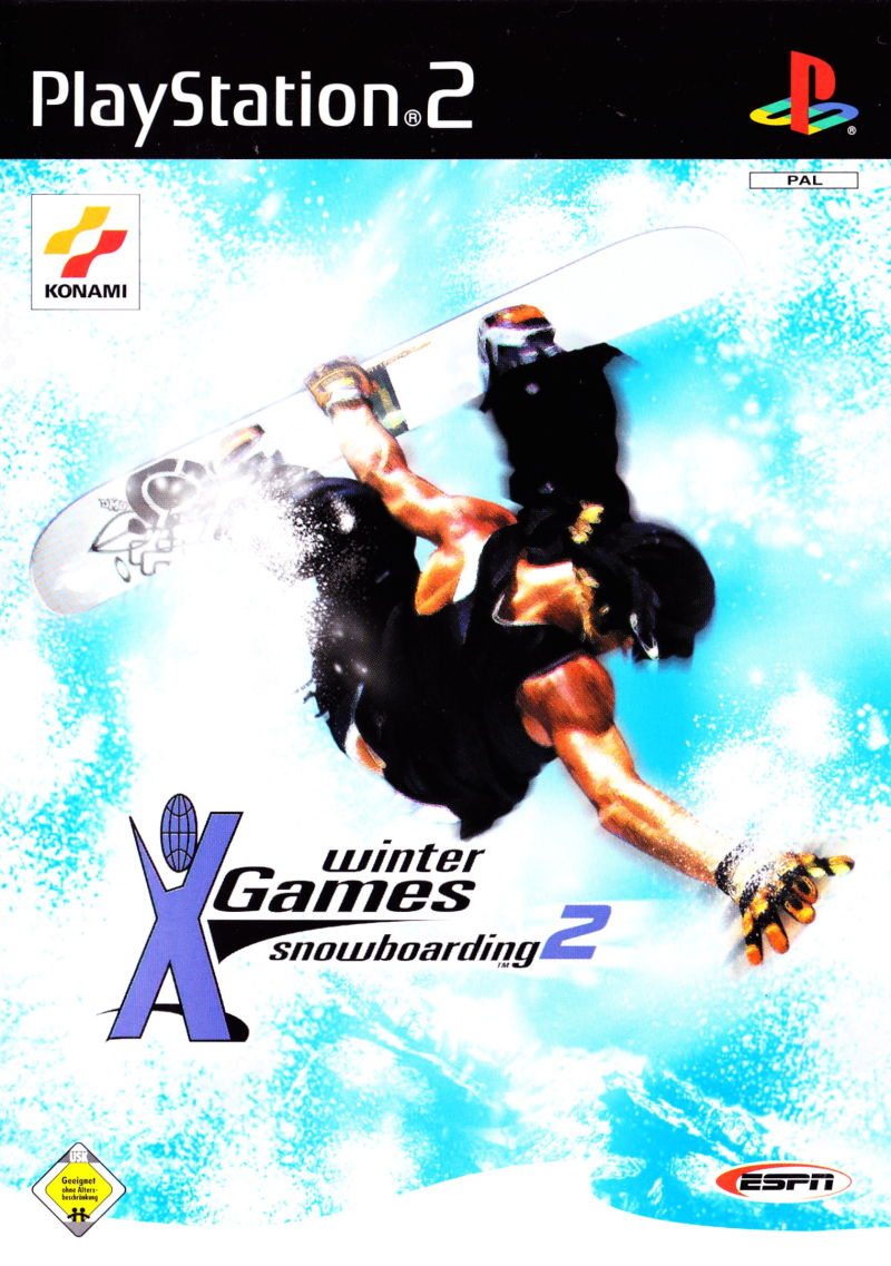 ESPN Winter X Games Snowboarding 2002 PlayStation 2 Front Cover