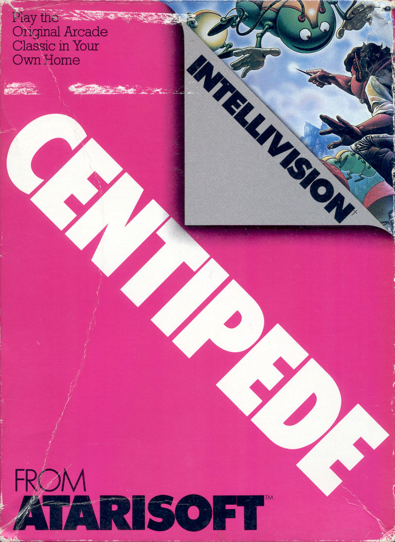 Centipede Intellivision Front Cover