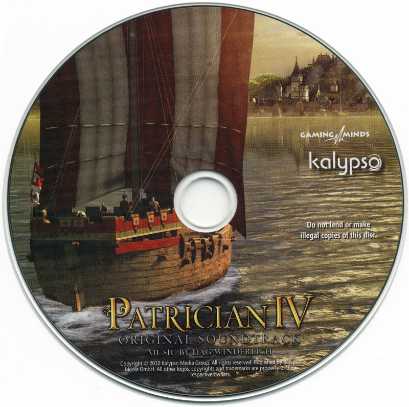 Patrizier IV (Limited Edition) Windows Media Soundtrack Disc