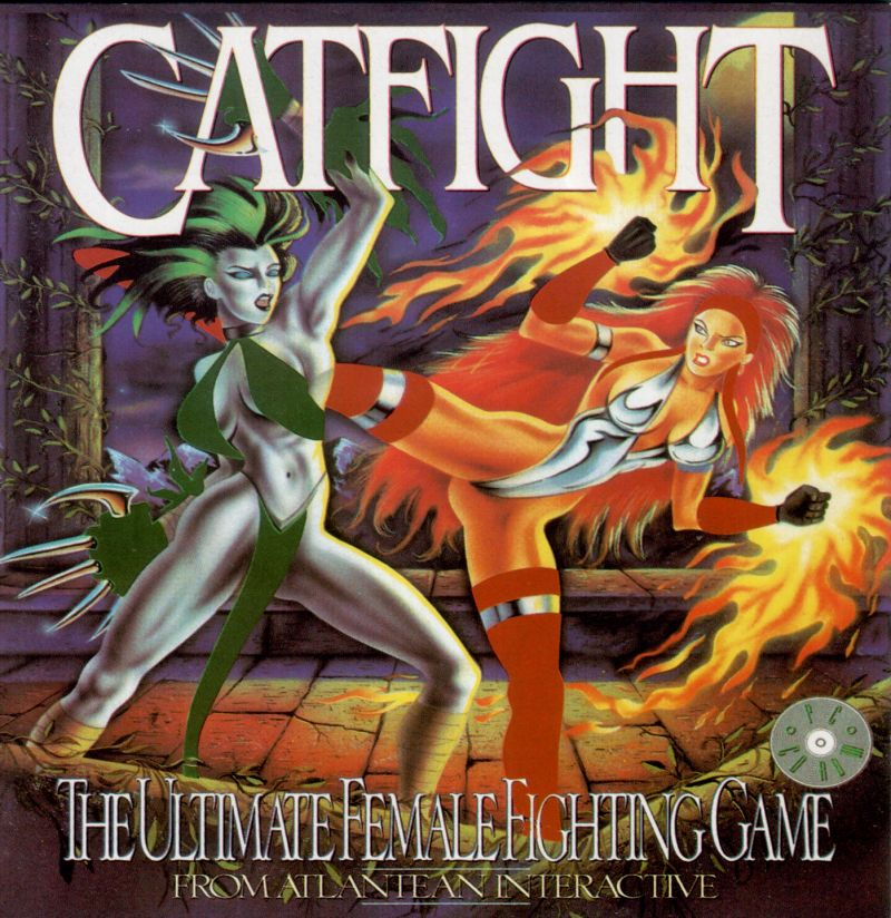 CatFight: The Ultimate Female Fighting Game (1996) Windows 3 x box