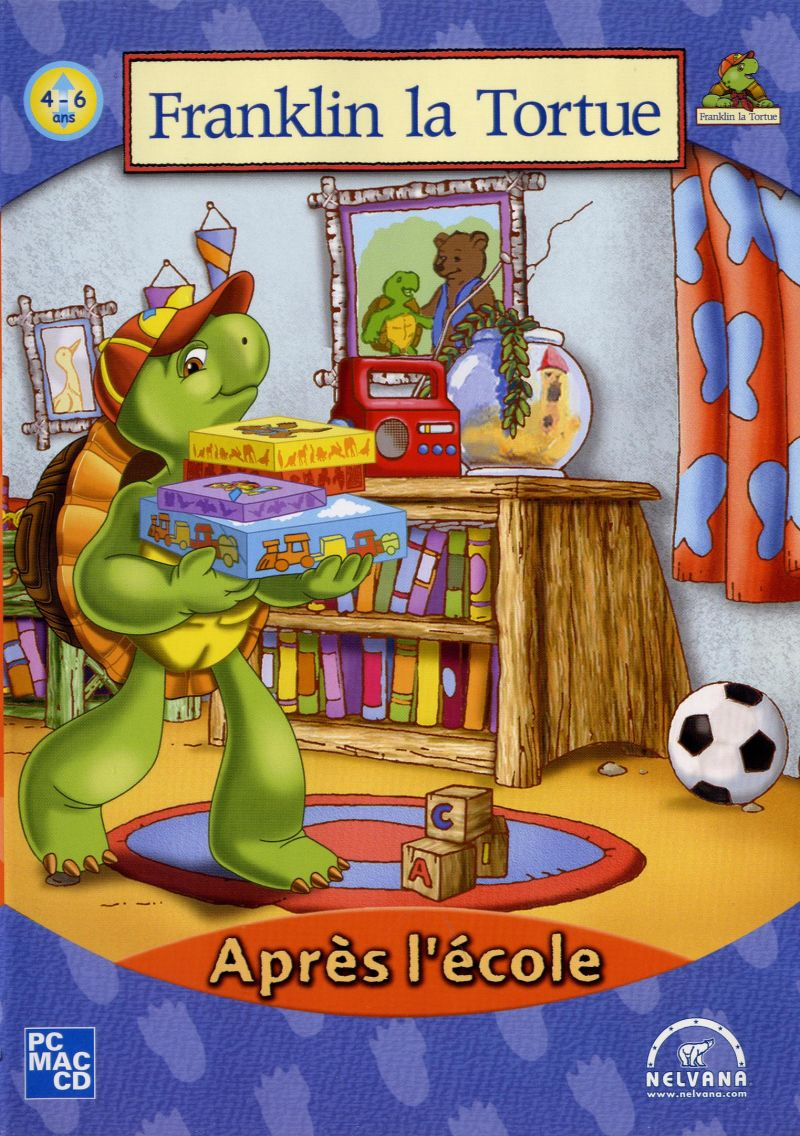 Franklin the Turtle: After School Macintosh Front Cover