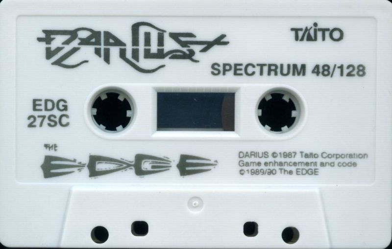 Darius+ ZX Spectrum Media