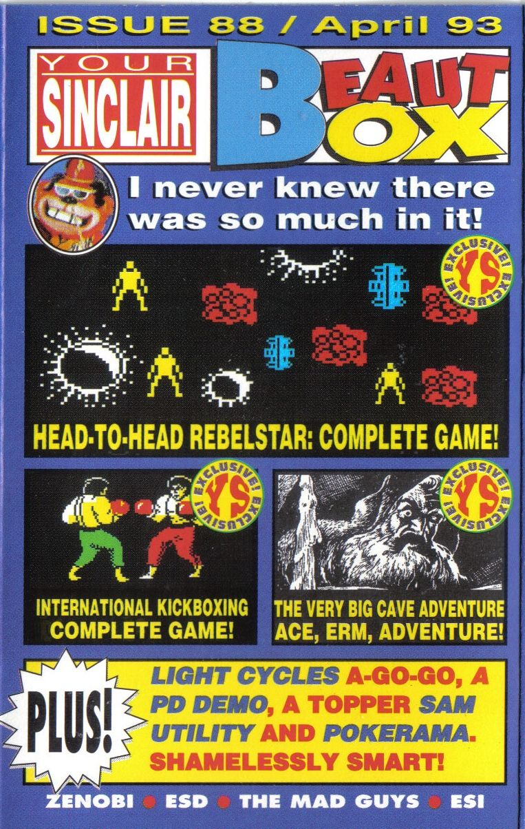 Rebelstar ZX Spectrum Front Cover