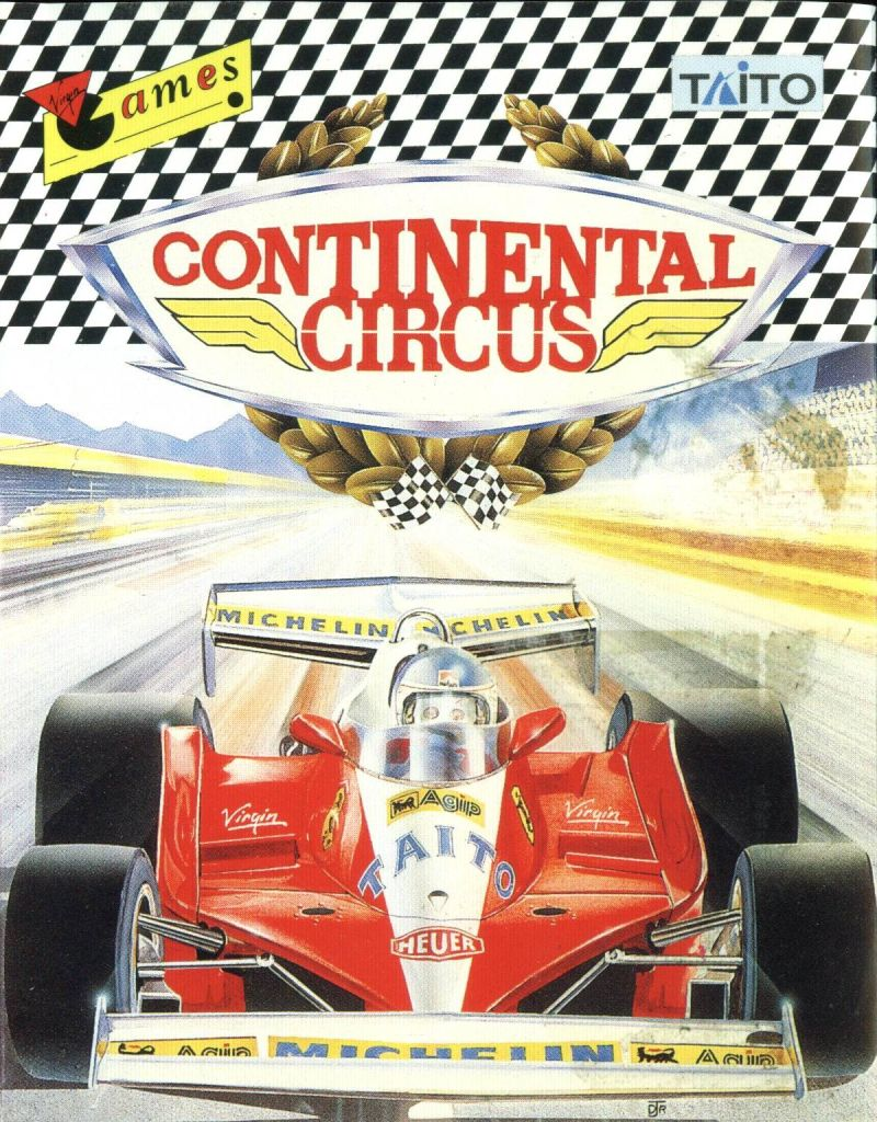 Continental Circus ZX Spectrum Front Cover