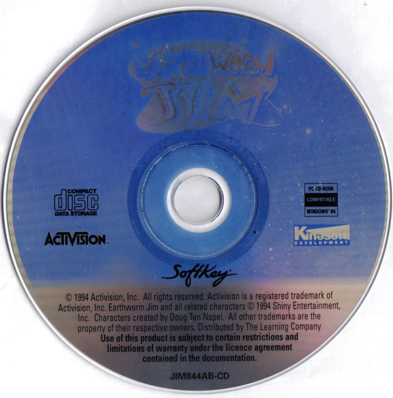 Earthworm Jim: Special Edition Windows Media