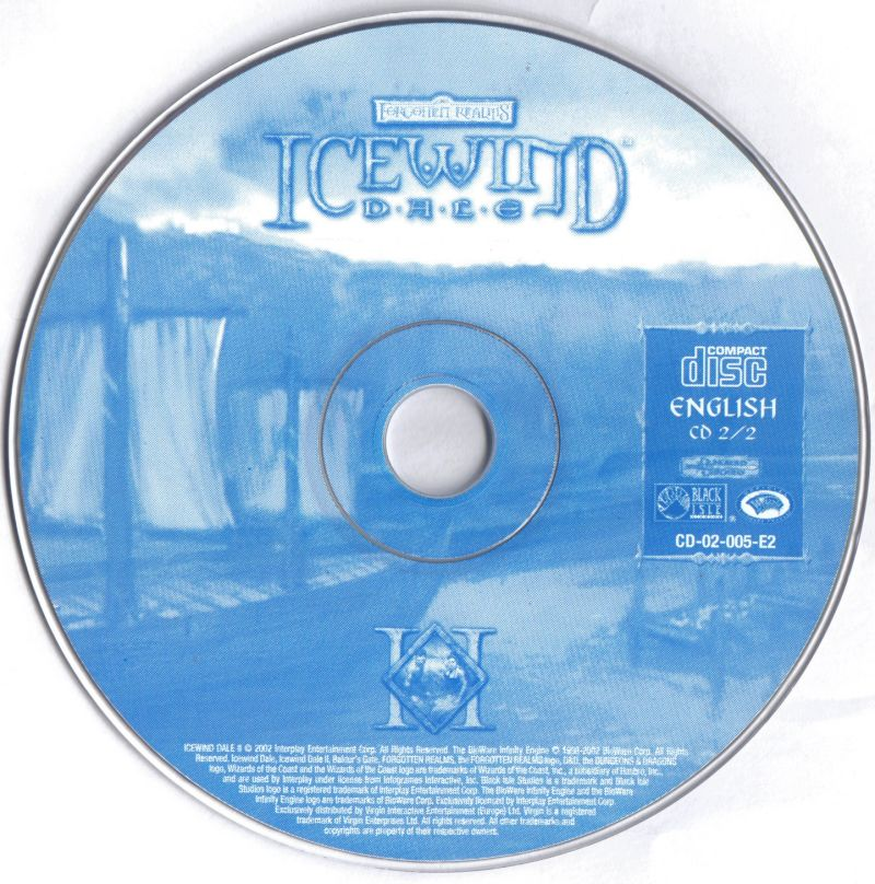 Icewind Dale II Windows Media Disc 2/2
