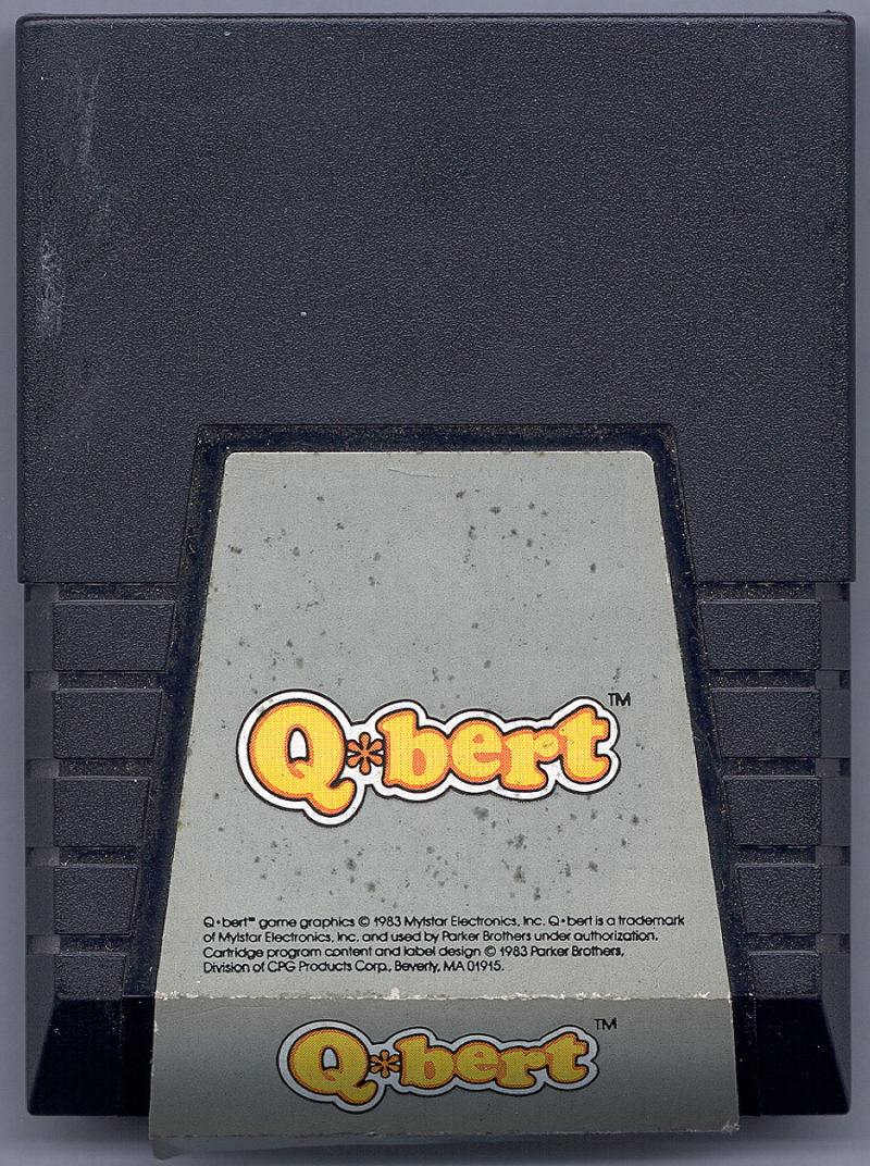 Q*bert Commodore 64 Media