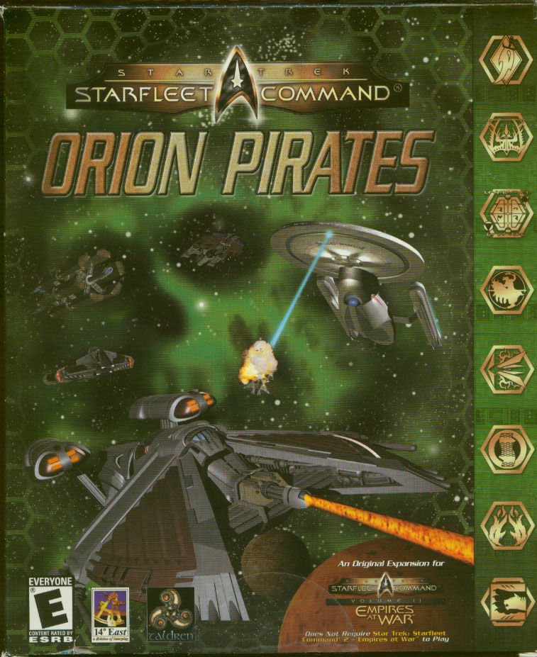 Star Trek: Starfleet Command - Orion Pirates Windows Front Cover