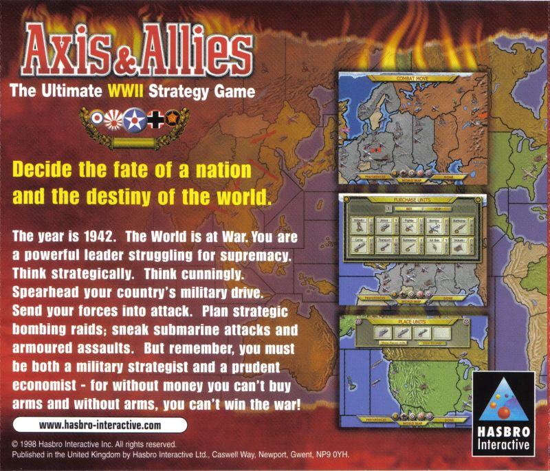 axis and allies hasbro