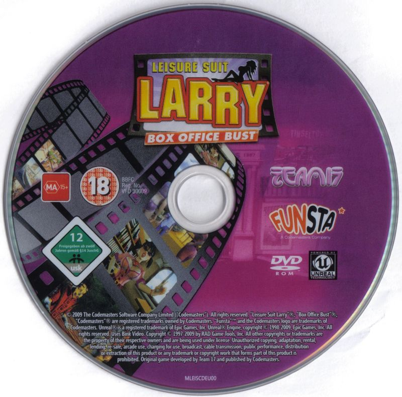 Leisure Suit Larry: Box Office Bust Windows Media