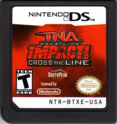 TNA iMPACT! Cross the Line Nintendo DS Media