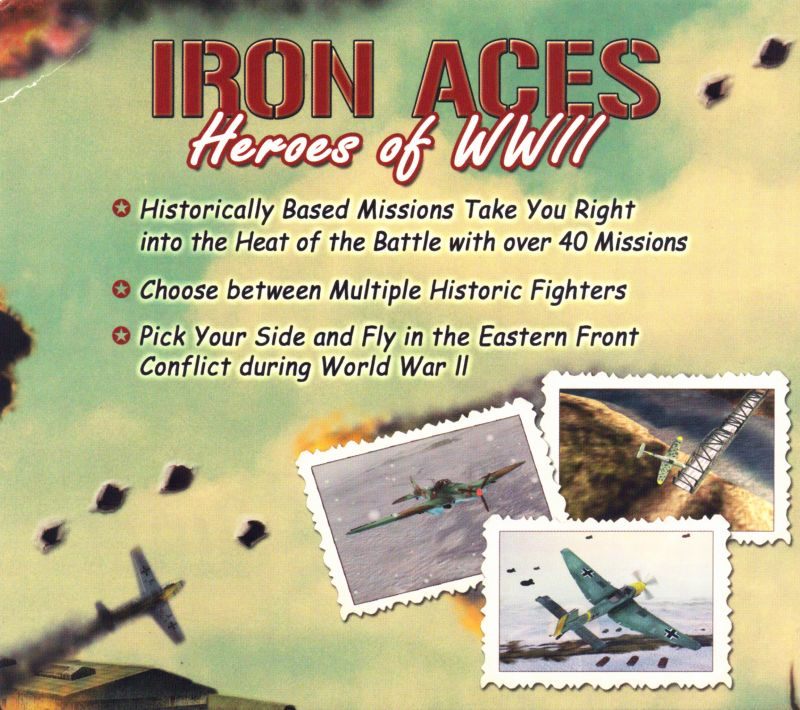 Iron Aces: Heroes of WWII Windows Inside Cover Left